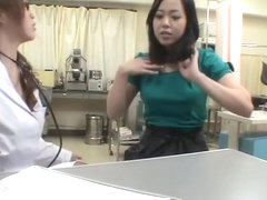 Fuckable bimbo crammed by her doc during pussy exam