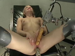 Horny fetish porn clip with best pornstar Ash Hollywood from Fuckingmachines