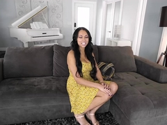 Big natural tits Bethany Benz fucked hard by french painter
