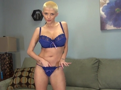 Horny pornstar Joslyn James in Amazing Masturbation, Blonde adult movie
