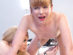 Aiden Starr & Claire Robbins in Claire Robbins Cunt-Licking And Cunt-Shocked - Electrosluts