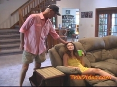 Teen BabySitter gets USED