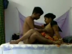 Indian homemade sex video of a chubby slut being nailed